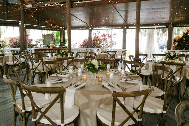 paradise cove outdoor wedding