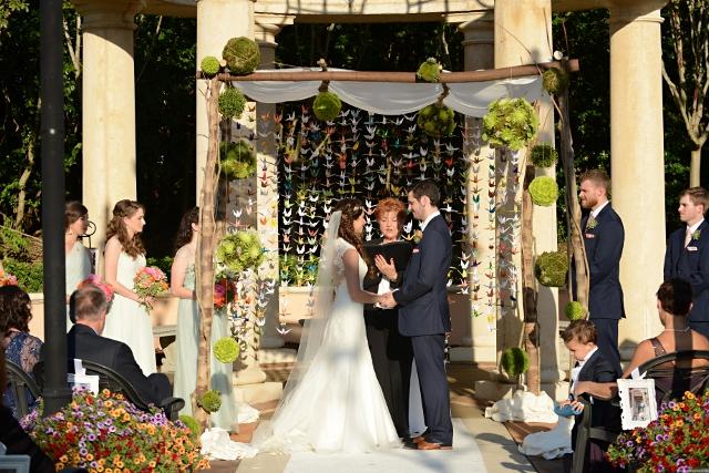 Tuscany Inspired Portofino Bay Hotel Wedding