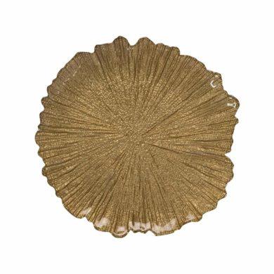 Gold Leaf Charger