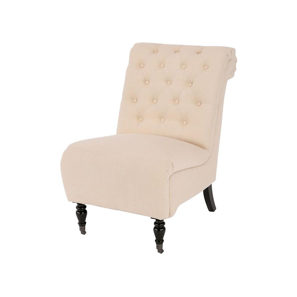 Tuscan Rolled Side Chair - A Chair Affair