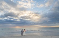 Colorful Wedding on the Beach: Anne and Charlie