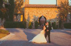 Ivory and Gold Bella Collina Wedding