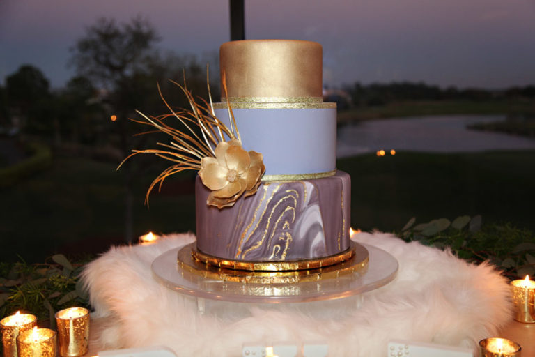 orange blossom bride birthday party design challenge, cake
