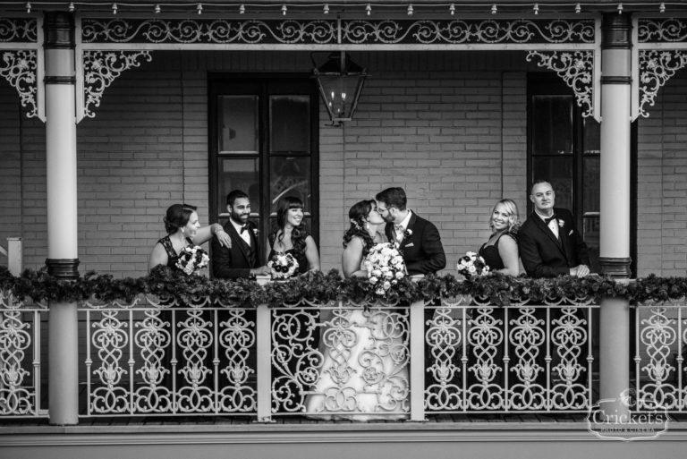 romantic ceviche orlando wedding, bridal party