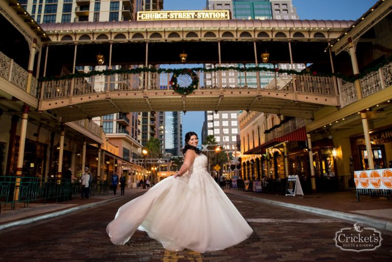 romantic ceviche orlando wedding, bride