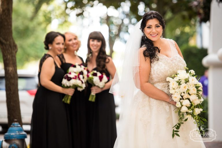 romantic ceviche orlando wedding, bridesmaids