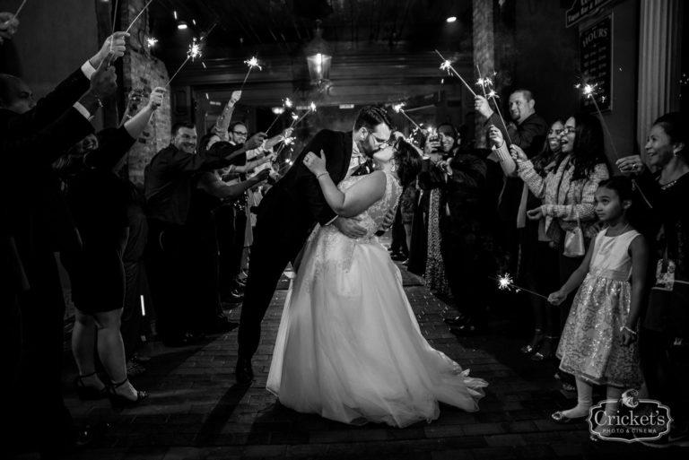 romantic ceviche orlando wedding, exit