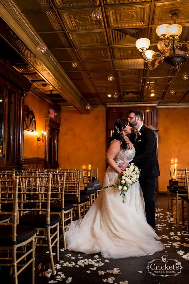 romantic ceviche orlando wedding, chiavari chairs