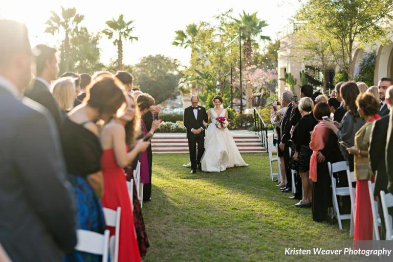 Alfond Inn Wedding Ceremony Bride