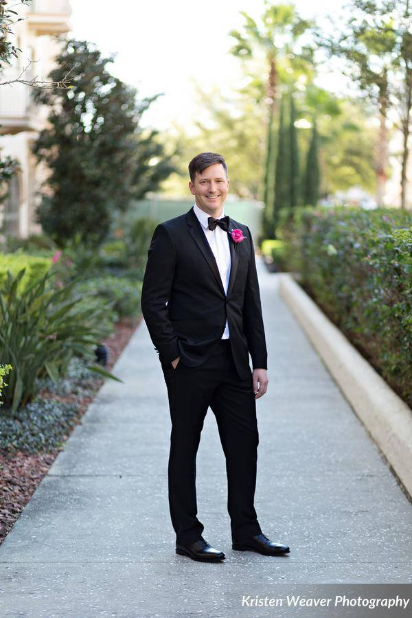 Alfond Inn Wedding Groom
