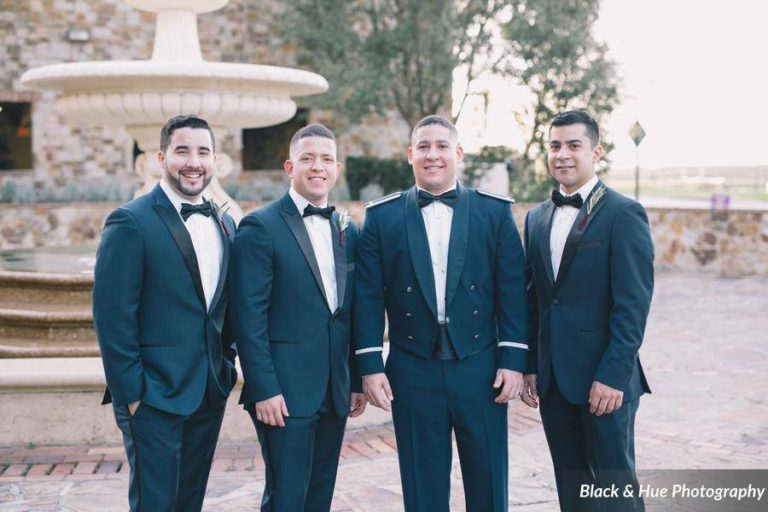 Bella Collina Bohemian Wedding Groomsmen
