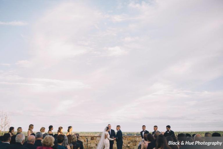 Blog - Post - Bella Collina Bohemian Wedding ceremony