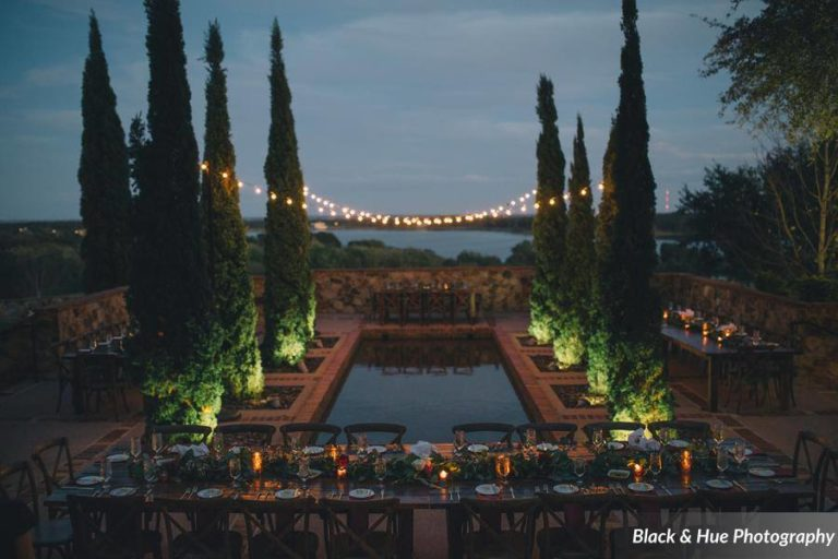 Blog - Post - Bella Collina Bohemian Wedding reception night