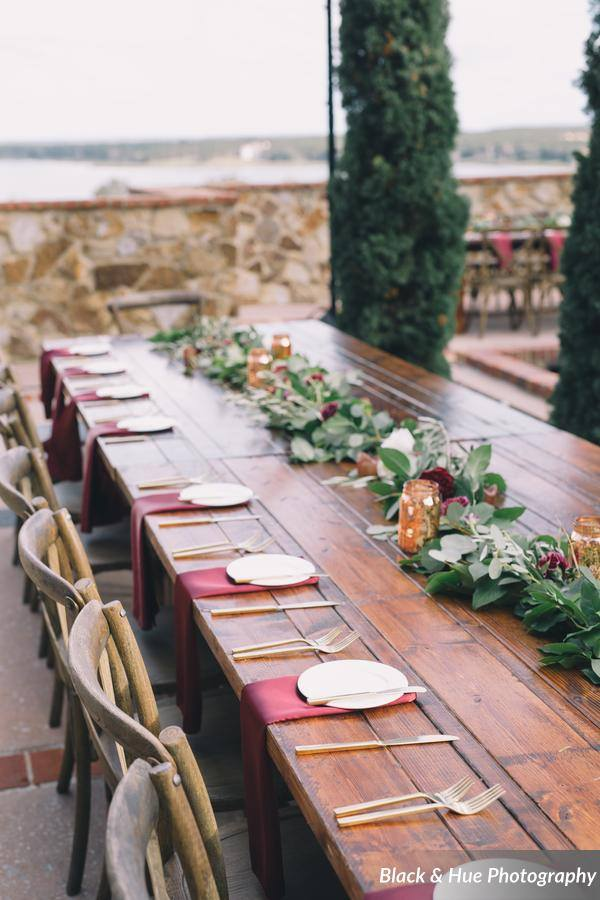 Blog - Post - Bella Collina Bohemian Wedding reception table
