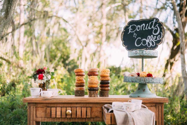 Bohemian Wedding Dessert Table