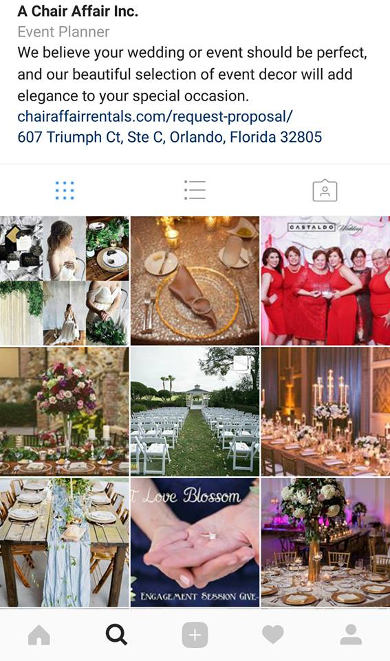 Clients Wedding MBA Instagram