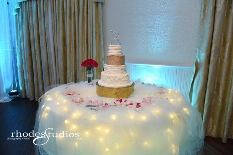Highland Manor Wedding cake
