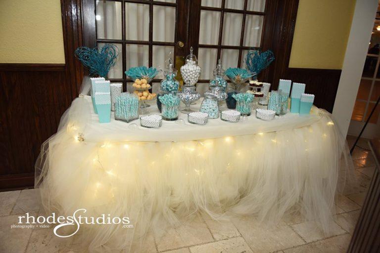 Highland Manor Wedding candy bar