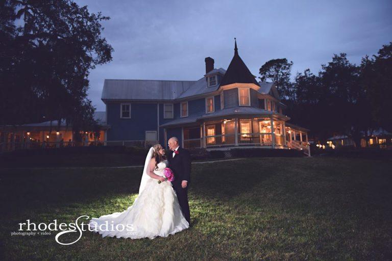 Highland Manor Wedding couple