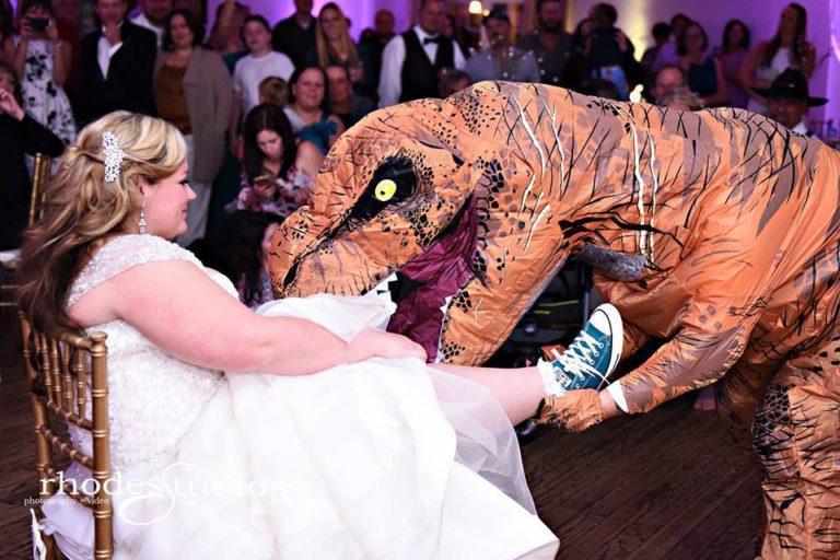 Highland Manor Wedding garter
