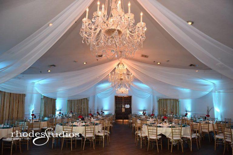 Highland Manor Wedding reception