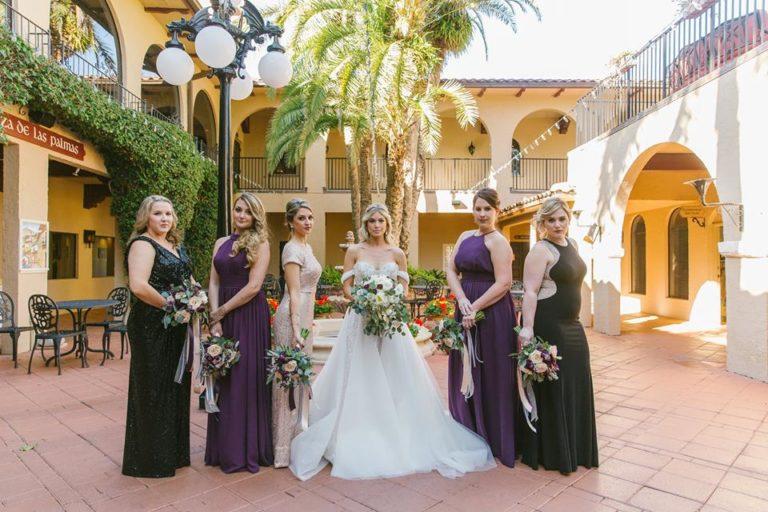 Mission Inn Resort Wedding Bridesmaids