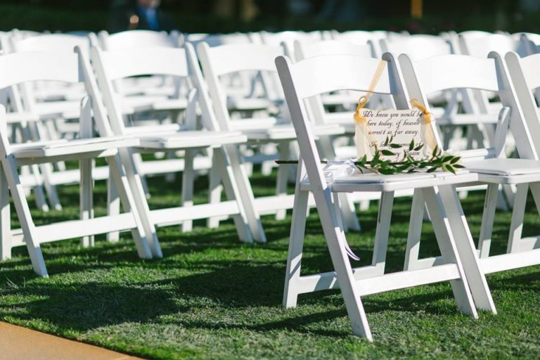 Mission Inn Resort Wedding Folding Chair