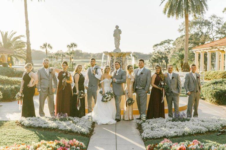 Mission Inn Resort Wedding Party
