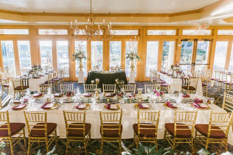 Mission Inn Resort Wedding Reception Table