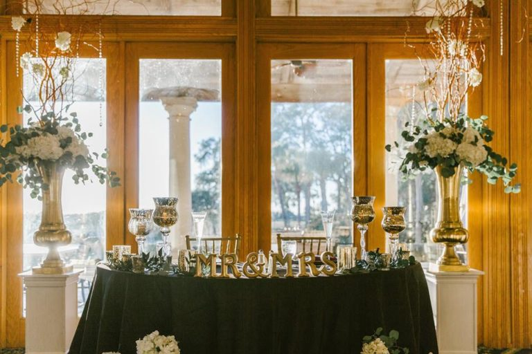 Mission Inn Resort Wedding Sweetheart Table