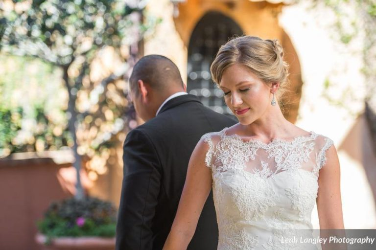 Pink Bella Collina Wedding First Touch