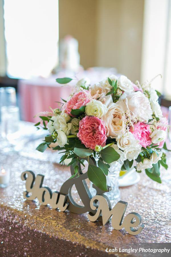 Pink Bella Collina Wedding Floral