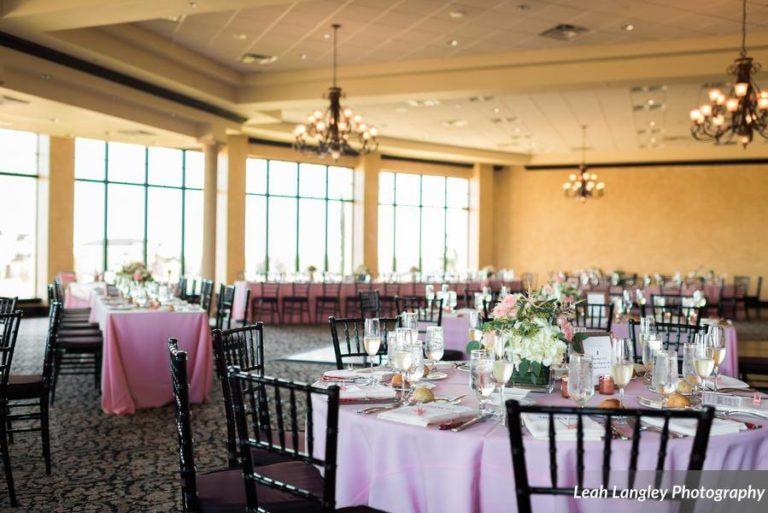 Pink Bella Collina Wedding Reception