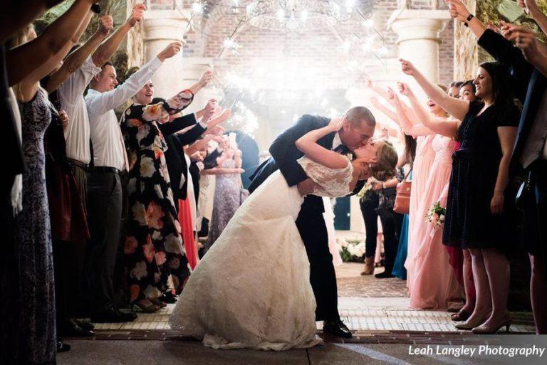 Pink Bella Collina Wedding Sparklers