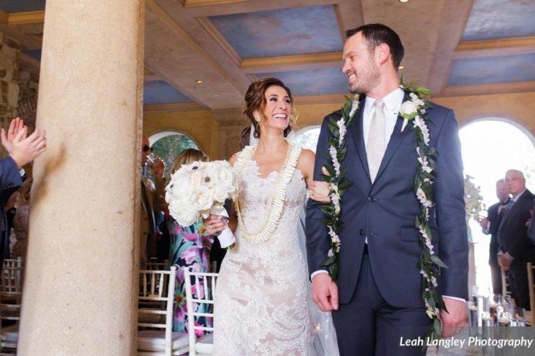 Romantic Bella Collina Wedding Ceremony