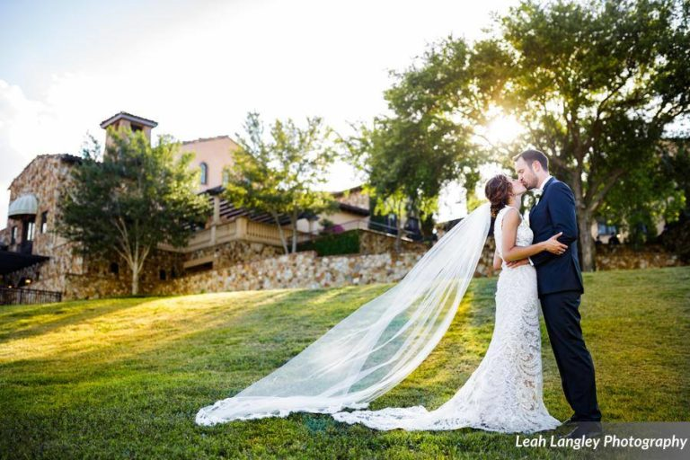 Romantic Bella Collina Wedding Couple