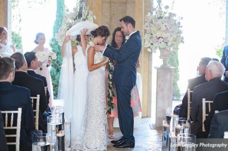 Romantic Bella Collina Wedding Lei Exchange