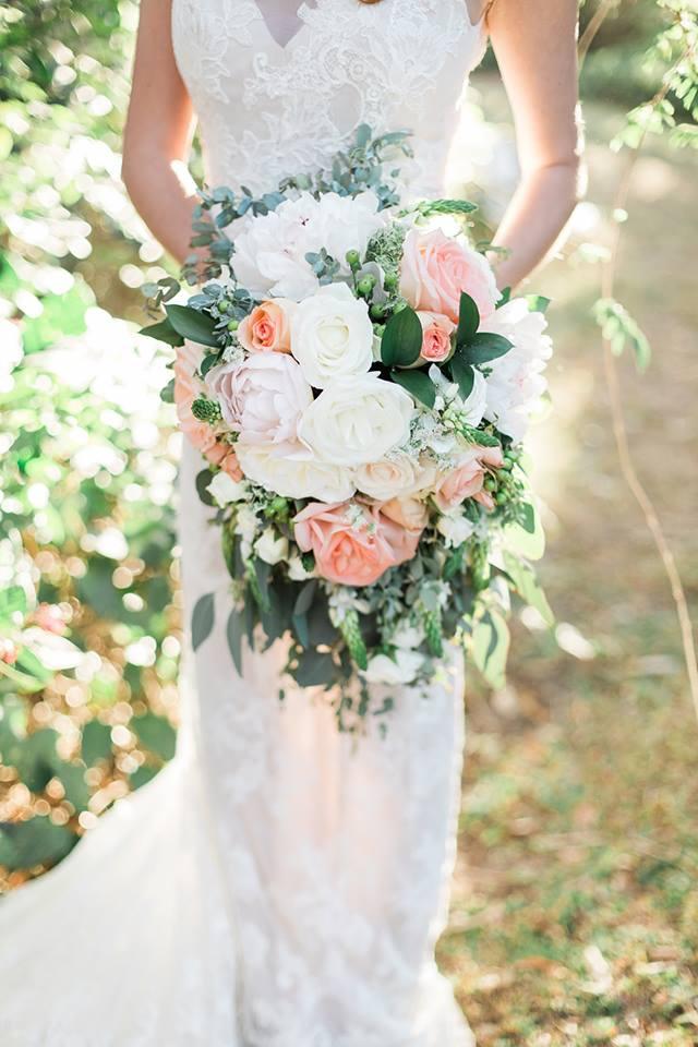 Southern Garden Chic Wedding Bouquet
