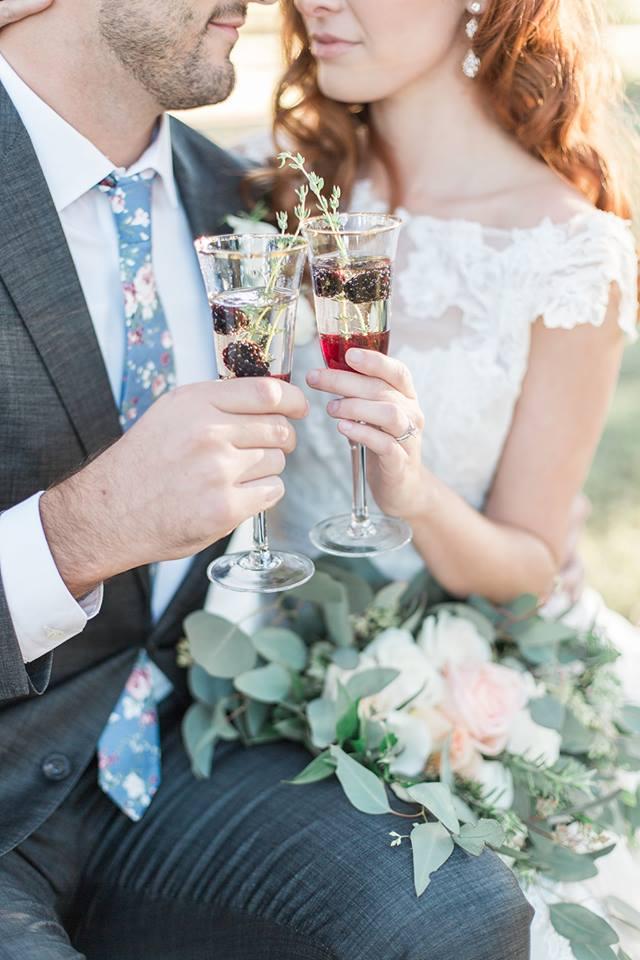Southern Garden Chic Wedding Signature Drink