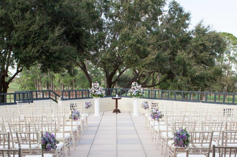 Timacuan Golf Club Wedding Ceremony Chairs