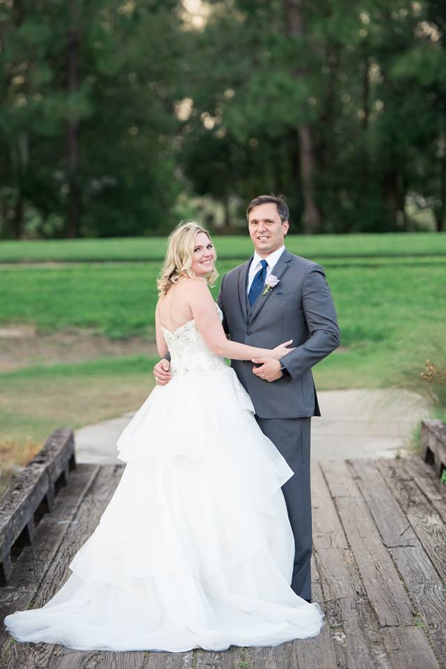 Timacuan Golf Club Wedding Couple