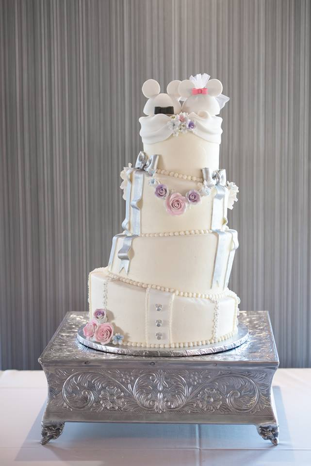 Timacuan Golf Club Wedding Disney Cake