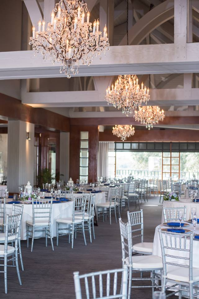 Timacuan Golf Club Wedding Reception Chiavari