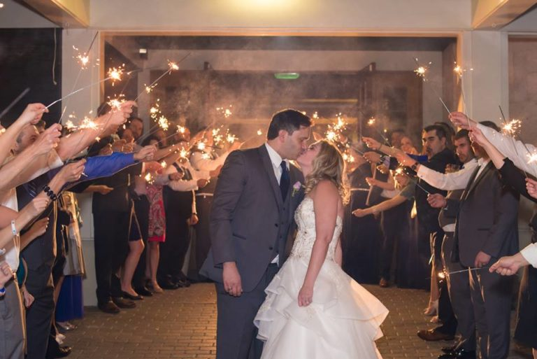 Timacuan Golf Club Wedding Sparklers