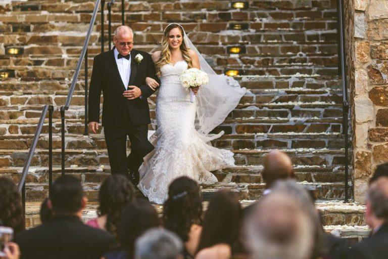 White Bella Collina Wedding Bride