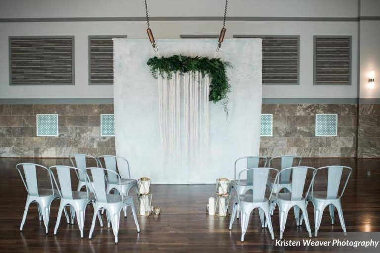 bohemian wedding inspiration ceremony