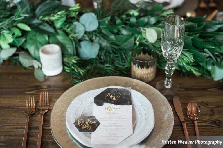 bohemian wedding inspiration chargers