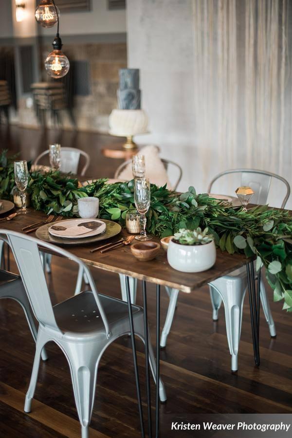 bohemian wedding inspiration table design