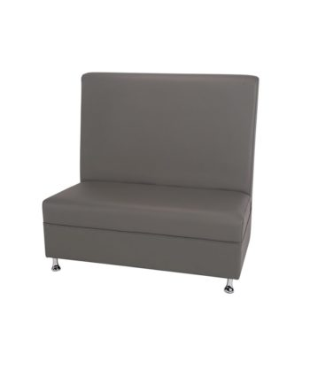 4ft Gray Mod Furniture High Back - A Chair Affair