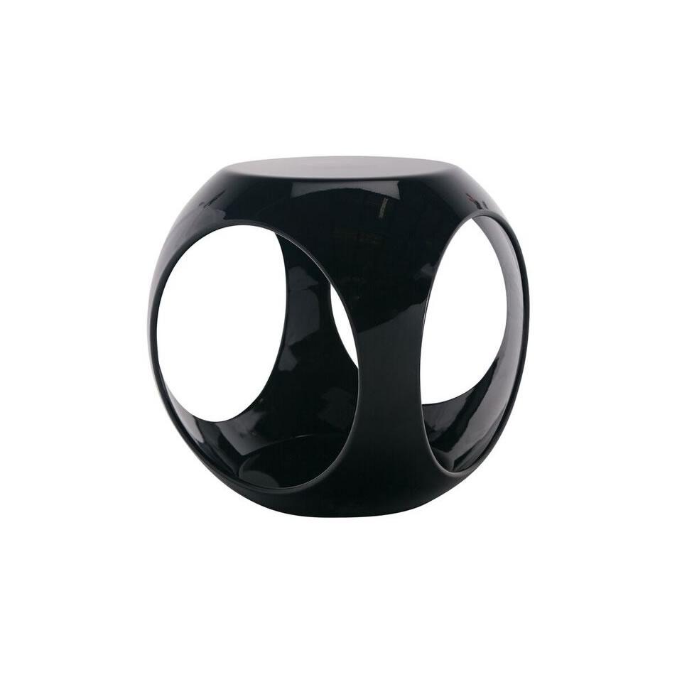 Black Rio Accent Table - A Chair Affair Rentals